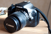 Зеркальный фотоаппарат Canon ЕOS 550D   объектив 18-55mm f/3.5-5.6 IS