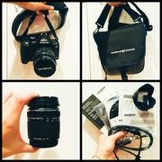 Продам зеркальный фотоаппарат olympus E-520 kit