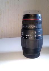 объектив Sigma 70-300mm F4-5.6 DG APO Macro для Sony