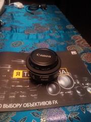 Обьектив Canon 40mm/2.8 STM