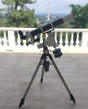 Sky-Watcher ED100 + HEQ-5 Pro SynScan